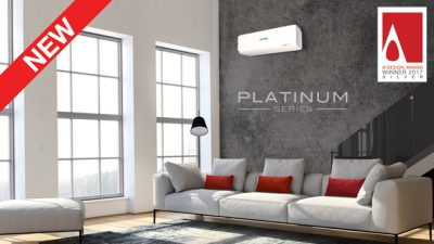 Avanti Plus Split System Air Conditioners Indoor Unit in Modern Loungeroom