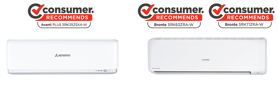 consumer recommended heat pumps - avanti plus and bronte models