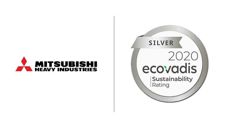 mitsubishi heavy industries ecovadis silver rating